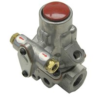 Imperial 1110-1 Equivalent Gas Safety Valve; Natural Gas / Liquid Propane; 3/8 inch Gas In / Out; 1/4 inch Pilot In / Out