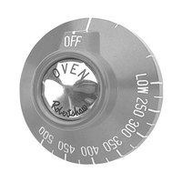 Garland / US Range 1086703 Equivalent 2 3/8 inch Oven BJ Thermostat Dial (Off, Low, 250-500)