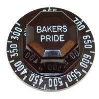 Bakers Pride S1053A  Equivalent 2 inch Bakers Pride RSW Thermostat Dial (Off, 300-700)