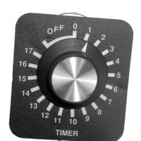 All Points 42-1189 18 Hour Timer with Knob, Dial Plate, and Hardware - 240V