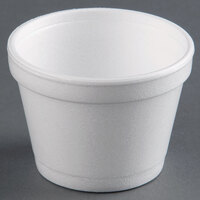 Dart Solo 12SJ20 12 oz. White Customizable Foam Food Bowl - 500/Case