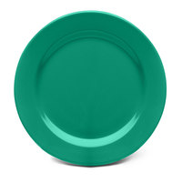 Elite Global Solutions D612PL Rio Autumn Green 6 1/2 inch Round Melamine Plate