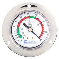 Replacement 2 inch Remote Vapor Tension Thermometer; -40 to +68 Degrees Fahrenheit; 48 inch Capillary; 3 inch Stem