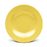 Elite Global Solutions D12PB Urban Naturals Olive Oil 24 oz. Melamine Pasta Bowl