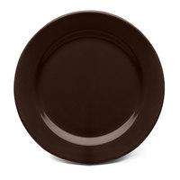 Elite Global Solutions D1175PL Urban Naturals Aubergine 11 3/4 inch Round Melamine Plate