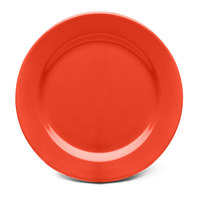 Elite Global Solutions D1075PL Rio Spring Coral 10 3/4 inch Round Melamine Plate