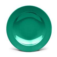 Elite Global Solutions D10PB Rio Autumn Green 18 oz. Round Melamine Pasta / Soup Bowl