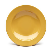 Elite Global Solutions D12PB Rio Yellow 24 oz. Round Melamine Pasta / Soup Bowl