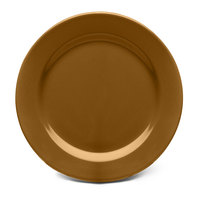 Elite Global Solutions D612PL Urban Naturals Tapenade 6 1/2 inch Round Melamine Plate
