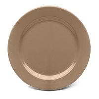 Elite Global Solutions D9PL Urban Naturals Mushroom 9 inch Round Melamine Plate
