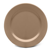 Elite Global Solutions D612PL Urban Naturals Mushroom 6 1/2 inch Round Melamine Plate