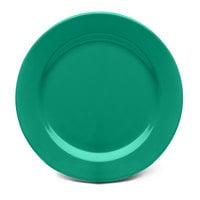 Elite Global Solutions D1075PL Rio Autumn Green 10 3/4 inch Round Melamine Plate