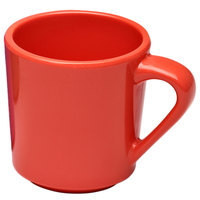 Elite Global Solutions DC14-SC Rio Spring Coral 14 oz. Melamine Mug