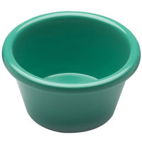 Elite Global Solutions R25SM Rio Autumn Green 2.5 oz. Melamine Ramekin