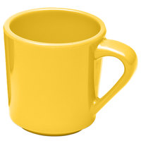 Elite Global Solutions DC14-Y Rio Yellow 14 oz. Melamine Mug
