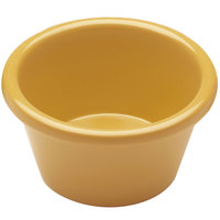 Elite Global Solutions R15SM Rio Yellow 1.5 oz. Melamine Ramekin