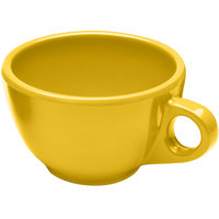 Elite Global Solutions DMC Rio Yellow 8 oz. Melamine Coffee Cup