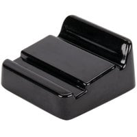 Elite Global Solutions M21 The Edge Black 2 inch x 2 inch Wedge for Trays