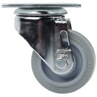 Cambro 60352 3 inch Replacement Swivel Caster for Service Carts and Camdollies
