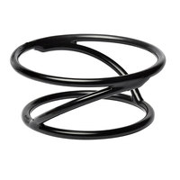 Elite Global Solutions SSDR3 Reversible 3 inch Round Rubber Coated Steel Stand