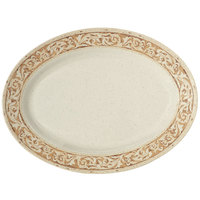 GET OP-630-OL Olympia Oval Platter - 6/Pack