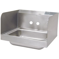 Advance Tabco 7-PS-66-NF Hand Sink with Side Splash Guards - 17 1/4 inch