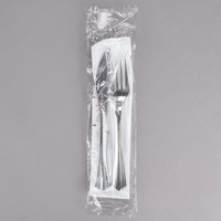 WNA Comet Wrapped Cutlery Pack with Knife, Fork, Napkin, Salt, Pepper 125 / Case