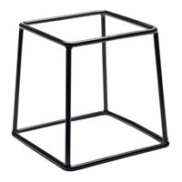 Elite Global Solutions SS767 7 inch Rubber Coated Steel Stand