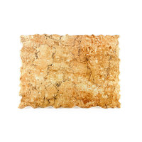 Elite Global Solutions QS2420 Rocky Mountain High 23 3/4 inch x 20 inch Rust Granite Rectangular Riser