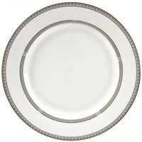 10 Strawberry Street SOP-24 11 7/8 inch Sophia Round Charger Plate