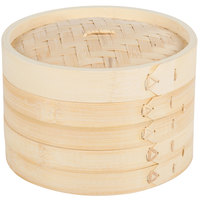 Town 34208 Bamboo Steamer Set - 8 inch