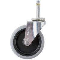 4 inch Replacement Swivel Stem Caster for Utility Carts