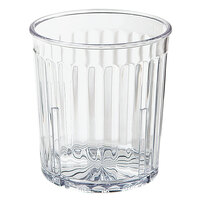 GET 8809-1-CL 9 oz. SAN Clear Plastic Spektrum Tumbler - 72/Case