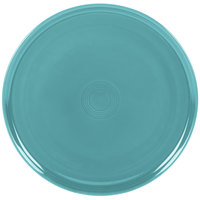 Homer Laughlin 575107 Fiesta Turquoise 12 inch China Pizza / Baking Tray - 4 / Case