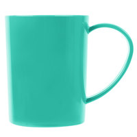 Carlisle 4306609 8 oz. Meadow Green Tritan Stackable Mug - 12/Case