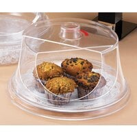 Cal Mil 302-15 Turn N Serve Colonial Sample / Pastry Tray Cover 15 inch