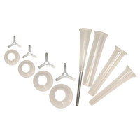 Weston 08-2501 12-Piece Universal Funnel Kit