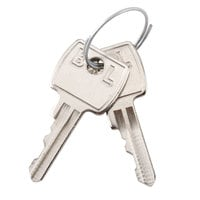 Edlund KY001 Replacement Key for KLC-994 Locking Knife Cabinet - 2/Set