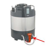 Bunn 39081.0001 Orange Faucet Handle for ThermoFresh Coffee Servers