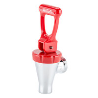 Bunn 07114.0000 Faucet Assembly with 8 inch Extension and Red Hot Water Handle for Hot Water Dispensers & Coffee Urns