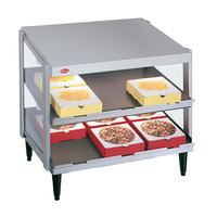 Hatco GRPWS-2424D Glo-Ray 24 inch Double Shelf Pizza Warmer - 1200W