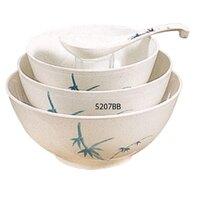 Blue Bamboo Melamine 39 oz. Rice Bowl – 7 inch 12 / Pack