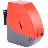 Turn-O-Matic D900 Red/Gray Take a Number Ticket Dispenser