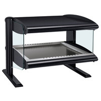 Hatco HZMH-48 Black 48 inch Horizontal Single Shelf Heated Zone Merchandiser - 120V