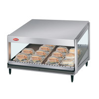 Hatco GRSDS-41 Glo-Ray 41 inch Slanted Single Shelf Merchandiser - 120V