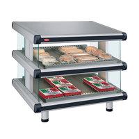 Hatco GR2SDS-36D Glo-Ray Designer 36 inch Slanted Double Shelf Merchandiser