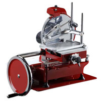 Volano 12 inch Manual Meat Slicer with Flower Wheel