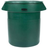 Rubbermaid Green 10 Gallon Trash Can