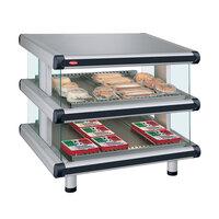 Hatco GR2SDS-60D Glo-Ray Designer 60 inch Slanted Double Shelf Merchandiser