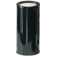 Rubbermaid 1000E Black Round Steel Ash Urn (FG1000EBK)